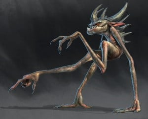 Concept Art by Aaron Blaise Creature Design