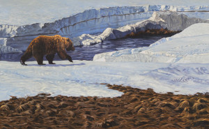 Grizzly-Bear-Oil-Pianting-by-Aaron-Blaise