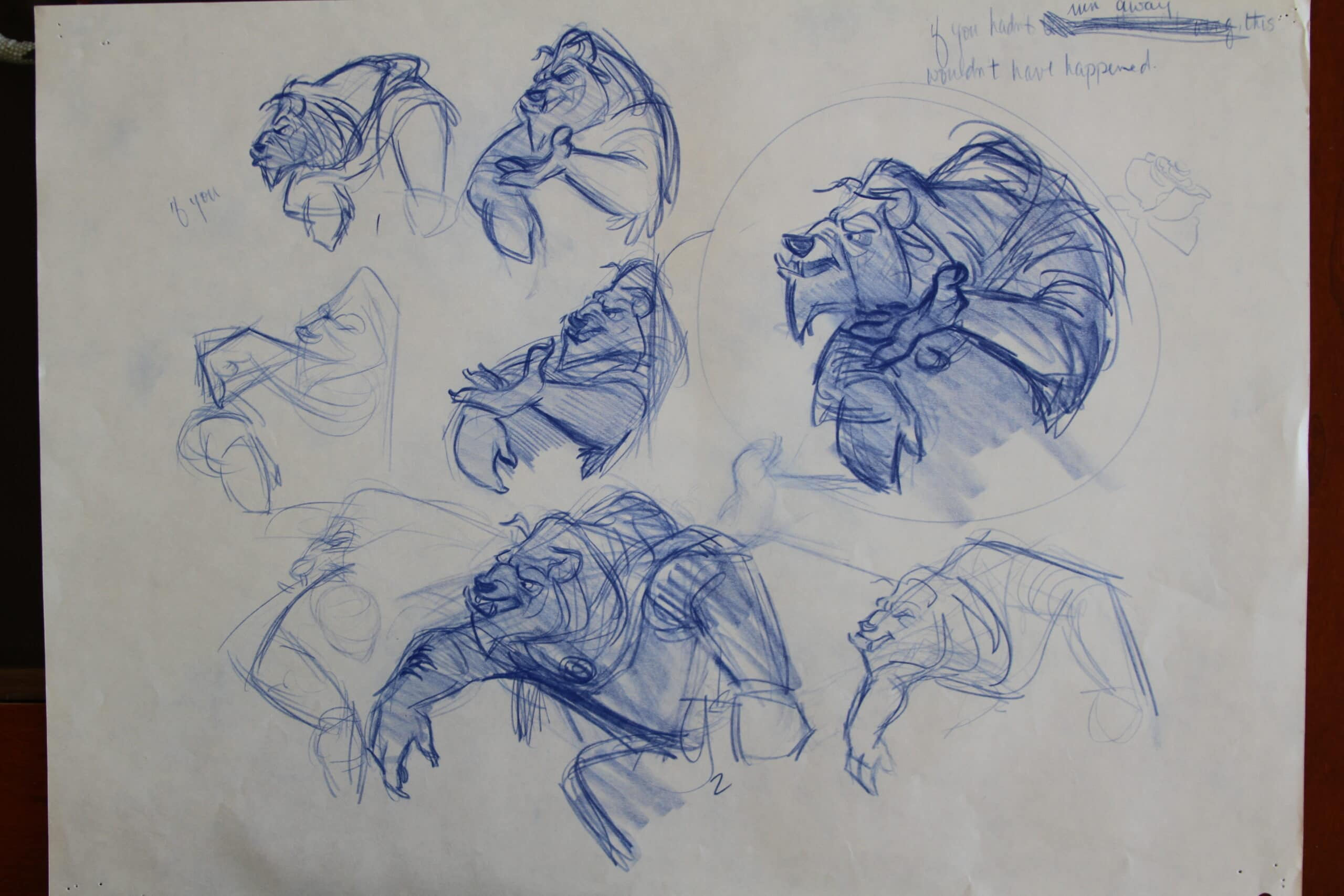 Character Design With Aaron Blaise : Beauty the beast sketches art of aaron blaise