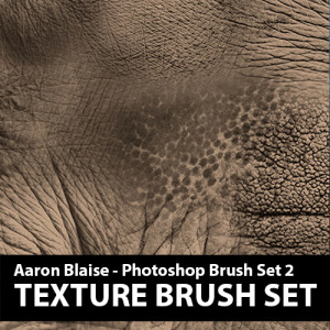 Custom Photoshop Brushes – Set 2 (Elephant Texture)