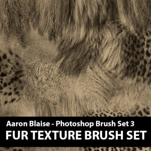 Custom Photoshop Brushes – Set 3 (Fur Texture)