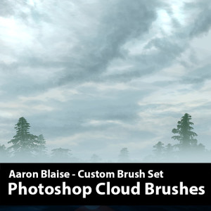 Cloud-Brush-Set-Template