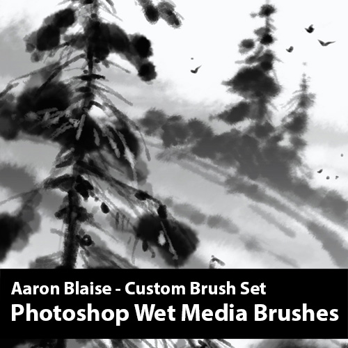 Aaron Brushes Photoshop
