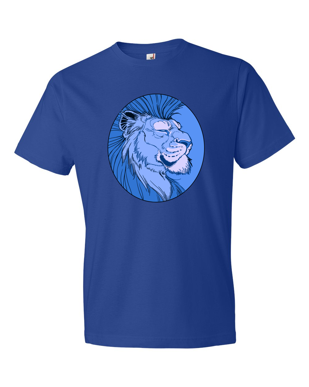 Blue Lion T Shirt The Art Of Aaron Blaise