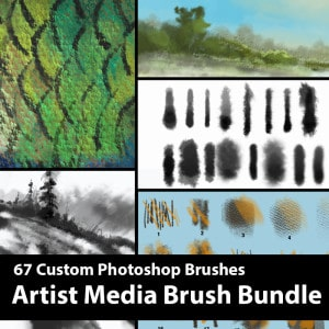 Artist-Media-Bundle-Product-template