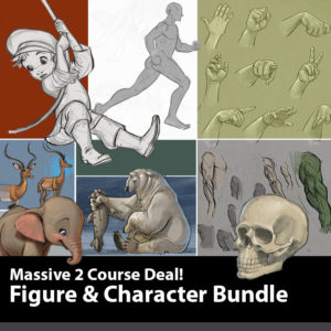 Figure-Drawing-+-Character-Design-Bundle-Template