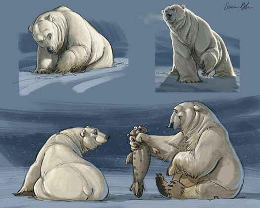 Polar-Bear-Character-Design