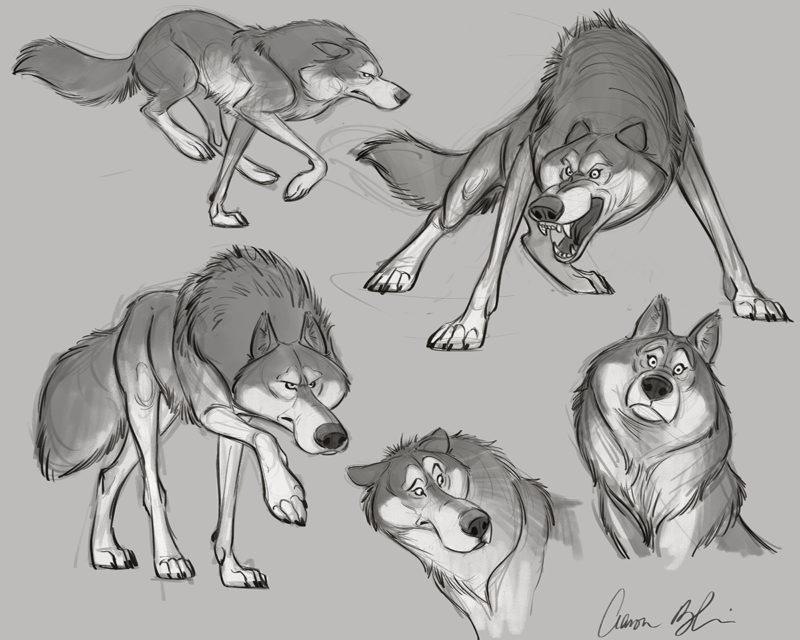 Rough-Model-Sheet-Wolf
