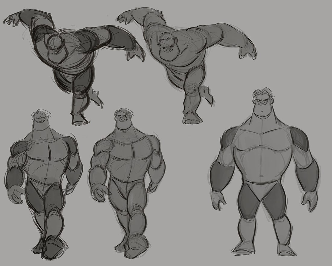 Character Design With Aaron Blaise : Character design tutorial course video lessons