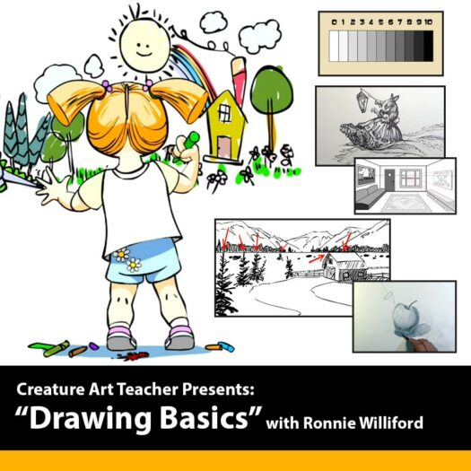 How to Draw Drawing Basics Intro with Ronnie Williford