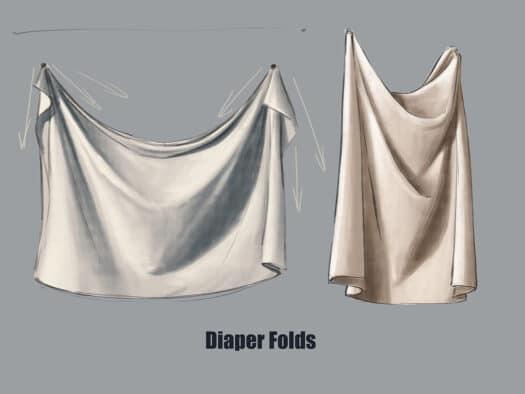 Drawing Folds Tutorial