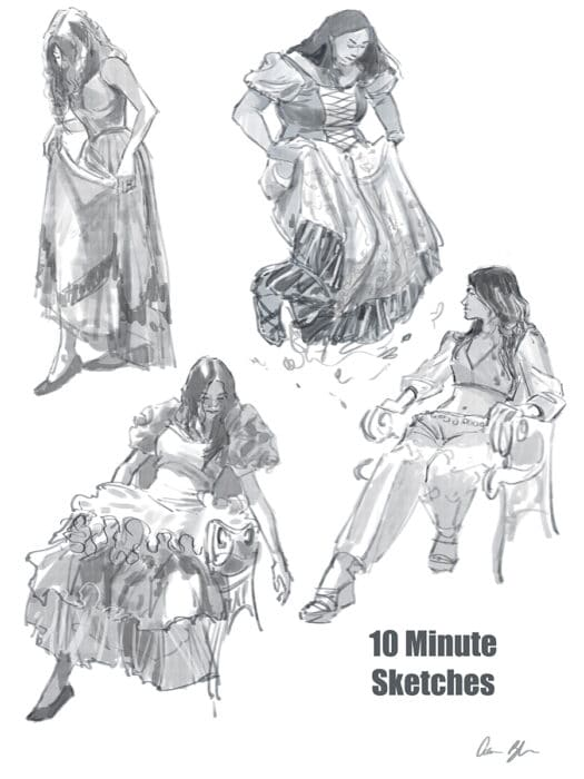 How to Draw Costumes