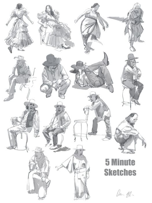 Gesture Drawing Lessons