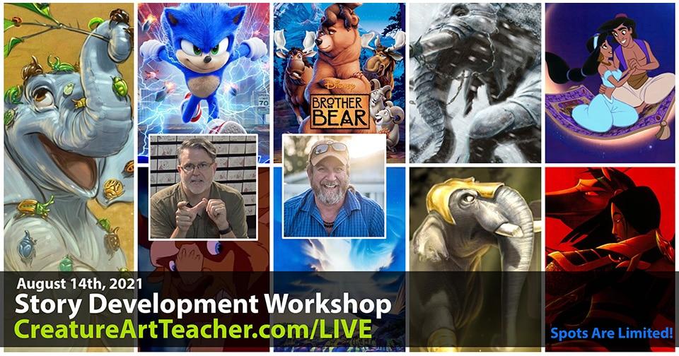 Live Story Workshop Aaron Blaise