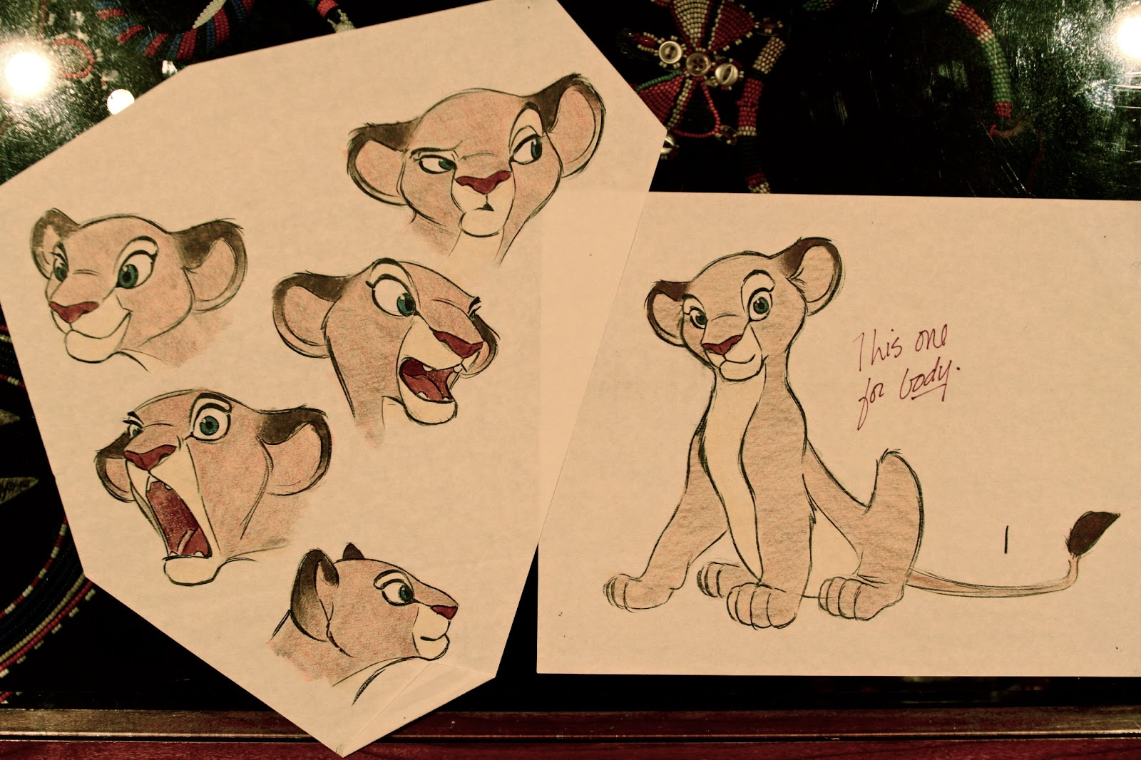 Character Design Lion King : Old animation design drawings the art of aaron blaise