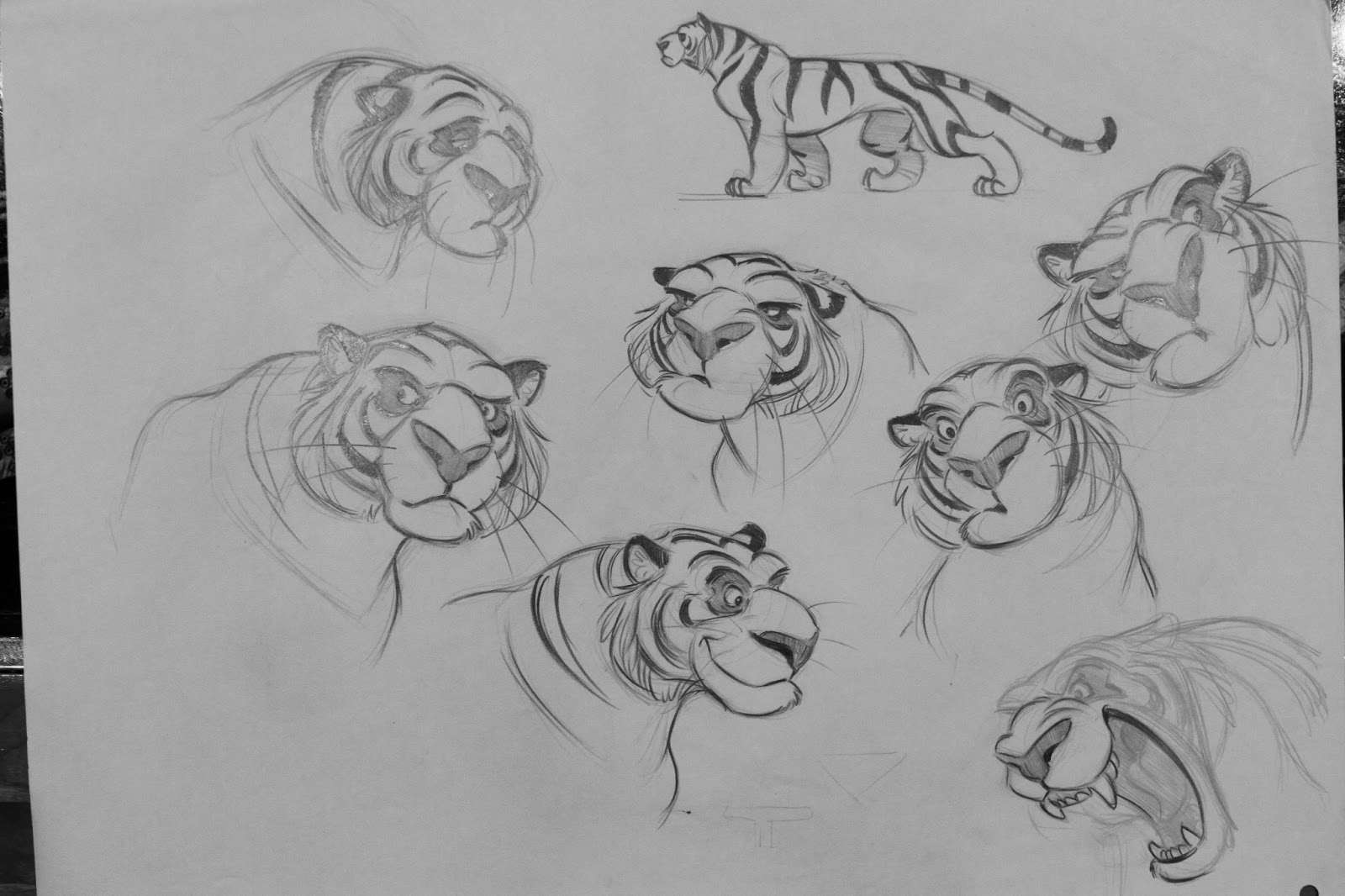 Old Animation Design Drawings - The Art of Aaron Blaise