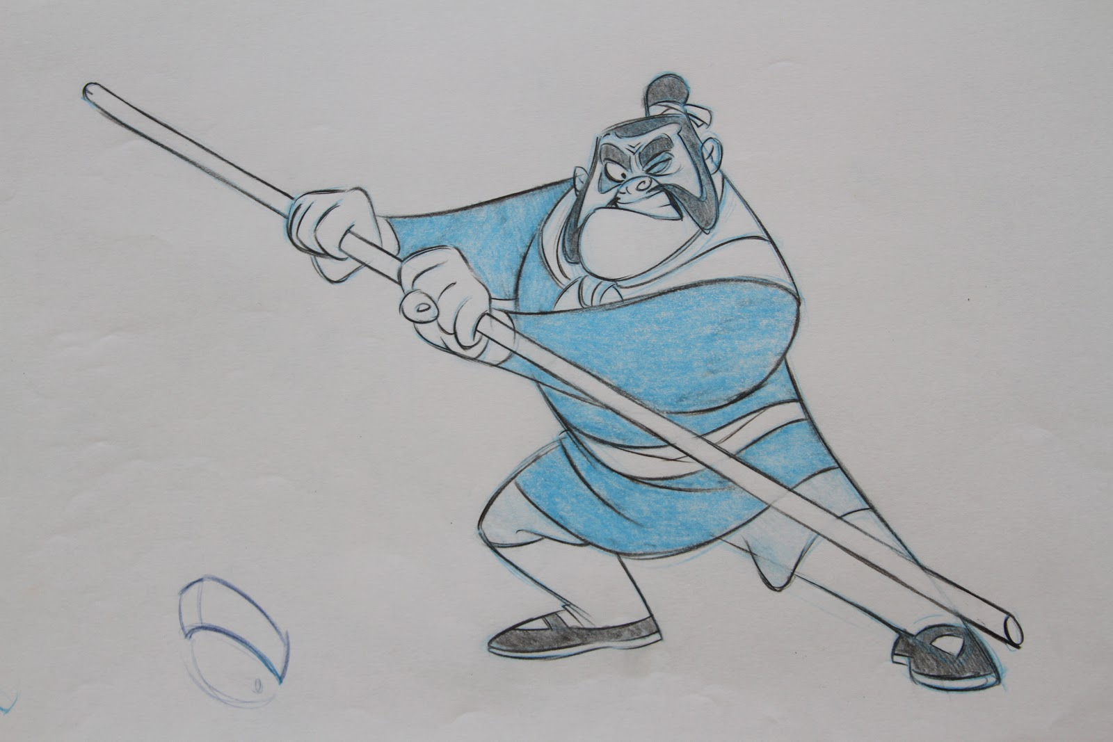 Character Design With Aaron Blaise : Here are a few old mulan designs i found the art of